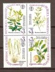 Stamps Dominican Republic -  PLANTAS   MEDICINALES