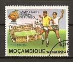Stamps Africa - Mozambique -  Mundial de Futbol España 82