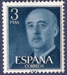 Sellos de Europa - España -  Edifil 1159 Serie básica Franco 3