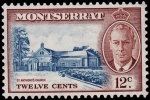 Stamps United Kingdom -  MONTSERRAT-Parroquia de S. Antony's Church.