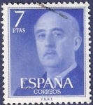 Stamps Spain -  Edifil 2226 Serie básica Franco 7