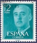 Sellos de Europa - España -  Edifil 2227 Serie básica Franco 12