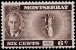Sellos de Europa - Reino Unido -  MONTSERRAT-Badge of presidency