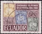 Sellos del Mundo : America : Ecuador : Centenario del Primer sello de Ecuador