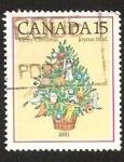 Stamps Canada -  MERRY CHRISTMAS - JOYEUX NOEL