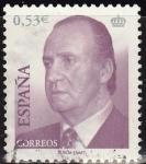 Sellos de Europa - España -  ESPAÑA 2005 4145 Sello Rey D. Juan Carlos I 0,53€ usado Espana Spain Espagne Spagna Spanje Spanien