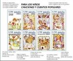 Sellos de Europa - España -  ESPAÑA 2005 4154 MP Sellos Nuevos Canciones y cuentos populares para los niños MNH