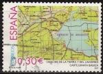 Sellos de Europa - España -  ESPAÑA 2007 4314 Sello Cartografia Basica de la Tierra usado Espana Spain Espagne Spagna Spanje