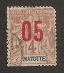 Stamps of the world : Mayotte :  República francesa