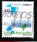 Sellos de Europa - España -  Energías Renovables