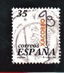 Stamps Spain -  Xacobeo 99