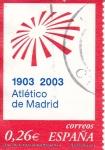 Sellos del Mundo : Europa : España :  1903-2003 Atletico de Madrid