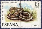 Stamps Spain -  Edifil 2196 Víbora de Lataste 15