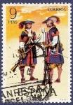 Sellos de Europa - España -  Edifil 2171 Mosqueteros tercios morados viejos 9