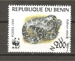 Sellos del Mundo : Africa : Benin :  Python Sebae