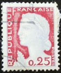 Stamps : Europe : France :  Personaje 0,25