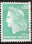 Stamps : Europe : France :  Personaje 0,30