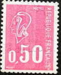 Stamps : Europe : France :  Personaje 0,50