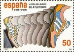 Sellos de Europa - España -  V COPA DEL MUNDO DE ATLETISMO