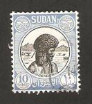Sellos del Mundo : Africa : Sudán : hadendowa