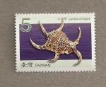 Stamps Asia - Taiwan -  Concha Lambis chiragra