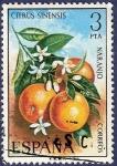 Stamps Spain -  Edifil 2256 Naranjo 3
