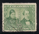 Stamps America - Colombia -  JOSE CELESTINO MUTIS Y JOSE JERÓNIMO TRIANA.