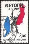 Stamps France -  RETOUR A LA PAIX