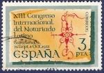 Sellos de Europa - España -  Edifil 2283 Congreso del notariado latino 3