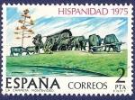 Stamps Spain -  Edifil 2294 Hispanidad Uruguay 2
