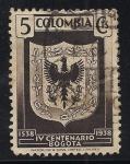 Sellos del Mundo : America : Colombia : ESCUDO DE ARMAS DE BOGOTA.
