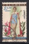 Sellos del Mundo : America : Colombia : Luz Marina Zuluaga, Miss Universo, 1959