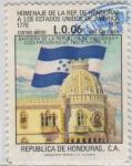 Stamps Honduras -  Homenaje a Estados Unidos de América