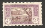 Sellos de Africa - Costa de Marfil -  laguna ebrie