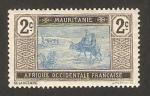 Sellos de Africa - Mauritania -  viajeros