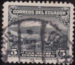 Stamps Ecuador -  Monte Chimborazo