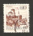 Stamps Yugoslavia -  vista de gradacac