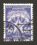 Sellos de Europa - Yugoslavia -  sello tasa