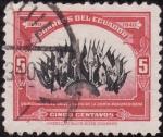 Stamps America - Ecuador -  Quincuagésimo Aniversario de la Unión Panamericana
