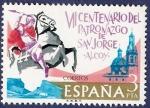 Sellos de Europa - España -  Edifil 2315 Aparición de San Jorge en Alcoy 3