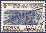 Stamps Spain -  Edifil 2322 Independencia de EEUU 1