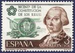 Stamps Spain -  Edifil 2323 Independencia de EEUU 3
