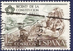 Stamps Spain -  Edifil 2325 Independencia de EEUU 12
