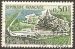 Stamps France -  1314 - Vista de Cognac