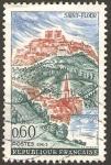 Stamps France -  vista de saint flour