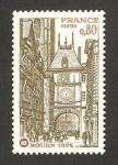 Sellos de Europa - Francia -  vista de rouen