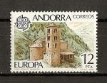 Stamps Andorra -  Tema Europa (And. Esp.)