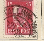 Stamps Europe - Estonia -  Presidente