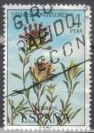Stamps : Europe : Spain :  ESPANA 1974 (E2222) Flora - Thymus longiflorus 4p 3