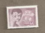 Stamps Turkey -  Nujer con flor
